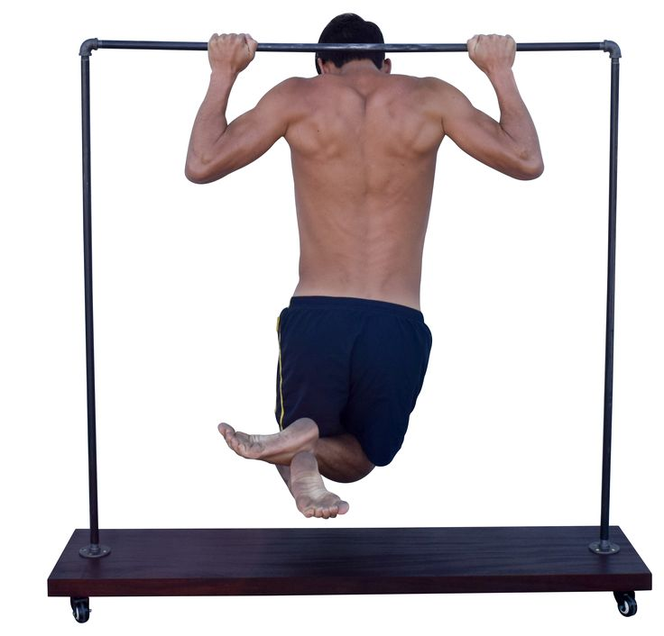 """STRENGTH TEST - Industrial Pipe Clothing Garment Rack by DIY Cartel - 48"""" x 48"""" x 48"""" ~ Great for Clothing, Jackets, Retail & Boutique Stores, Markets and Home Storage  Hardware ONLY from AMAZON.COM"""