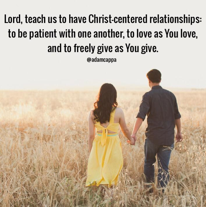 Verses on dating relationships
