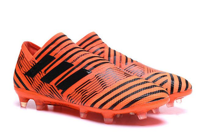 aaf5f121dd75 Men Adidas Nemeziz 17 1 360 Agility FG 2018 World Cup Solar Orange Core  Black