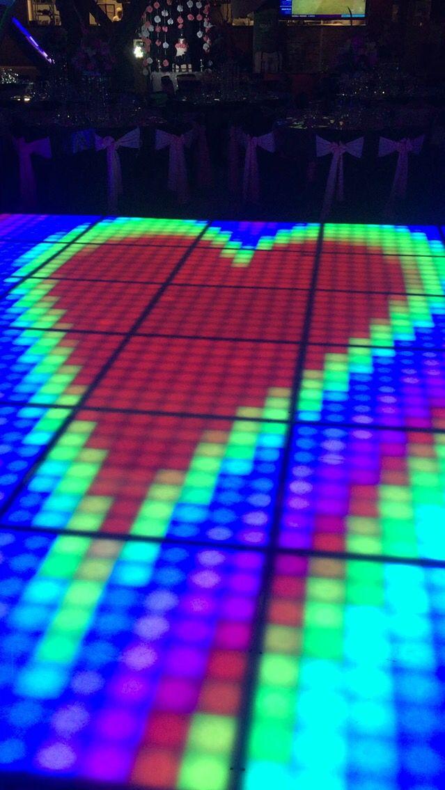 Pista de baile LED interactiva Cali- info 3164084104