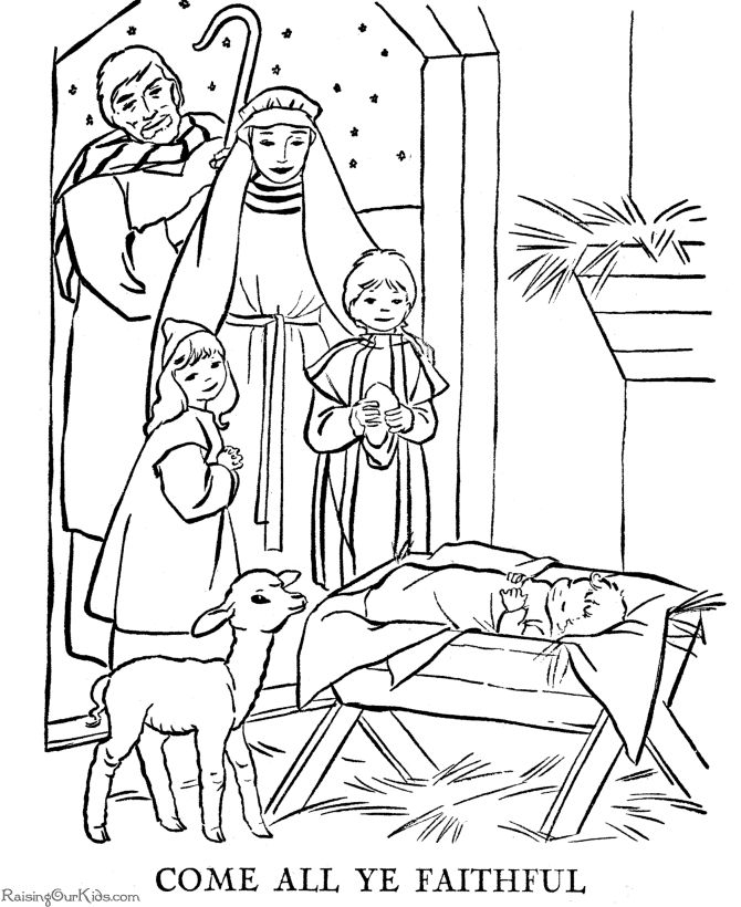 best 25 nativity coloring pages ideas on baby - Nativity Coloring Pages For Kids