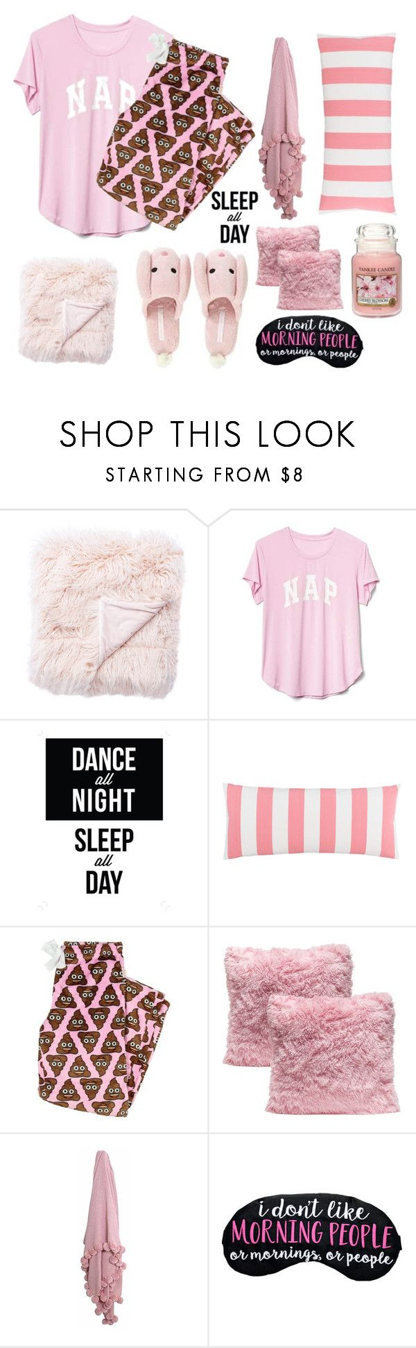 """12.05.2017"" by renyic ❤ liked on Polyvore featuring Jaipur, Gap, Pine Cone Hill and Yankee Candle"