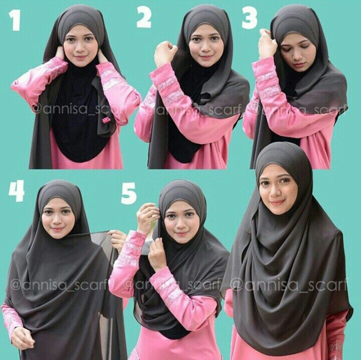 wide scarf how to wear