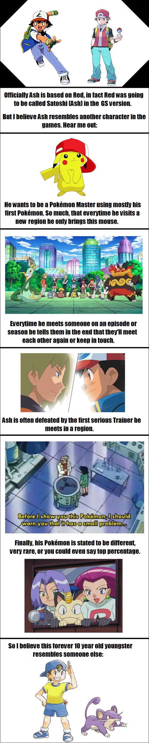 Ash's Other Identity
