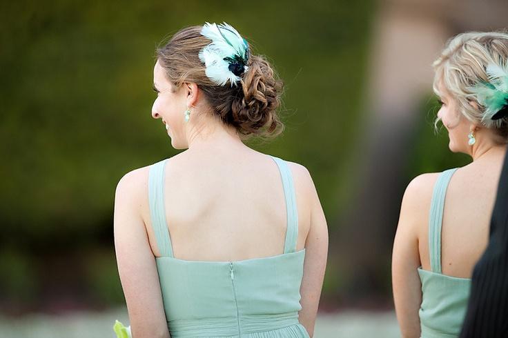 подружки невесты. Перья  Photography By / http://theyoungrens.com