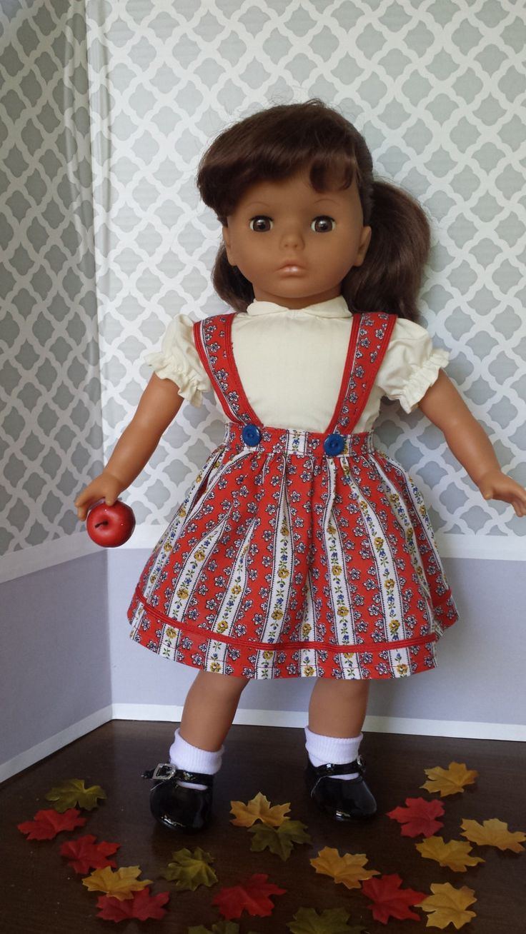 Back to School! Jumper and Blouse for Your Favorite 18-Inch Doll!! by…