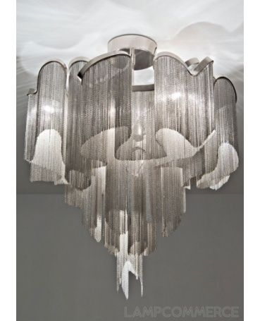 #Terzani #Stream ceiling lamp Design Christian Lava