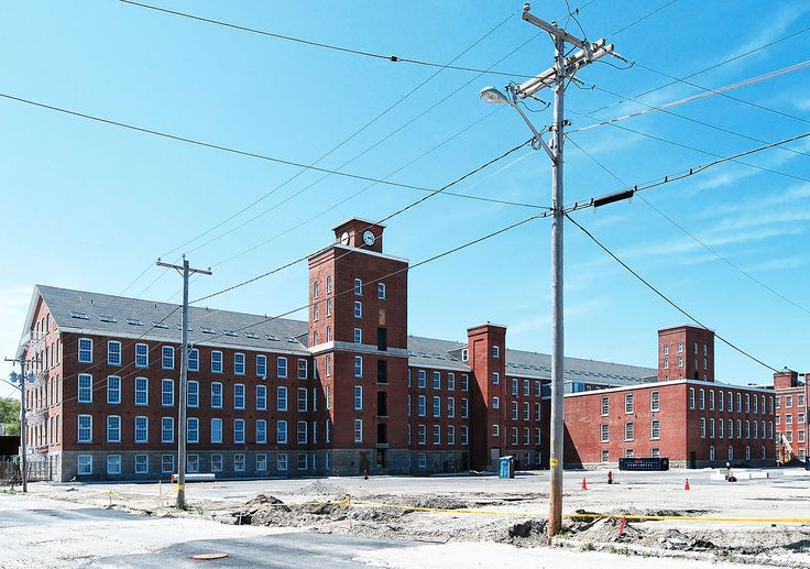 Wamsutta Mills in New Bedford, Massachusetts.