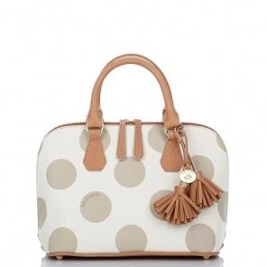 Seeing spots!: Vivian Polka, Brahmin Bags, Dots Domes, Fashion Style, Polkadot, Clothing, Dots Pur, Brahmin Vivian, Brahmin Polka Dots
