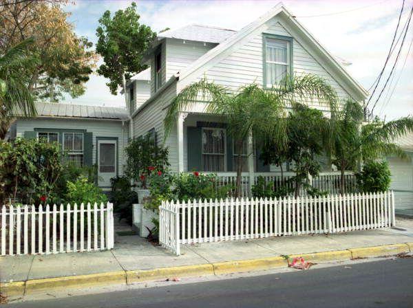 Florida Memory - Conch house on Eaton Street, Key West, Florida.
