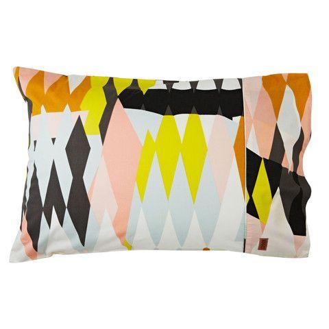 Kip & Co Croc Pillowcase Set in Desert | Available at www.LETLIV.co.nz