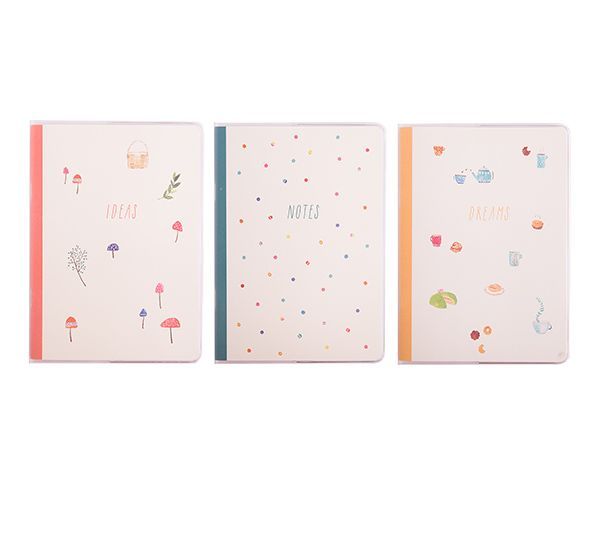 These B6 Notebooks are the perfect slim, lightweight design to throw in your bag when on the go. Ideal for university, school, meetings and more.