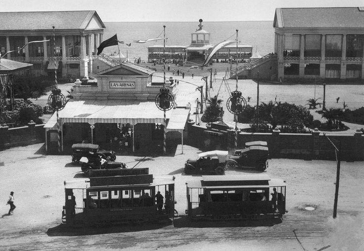 Balneario de las arenas en 1929