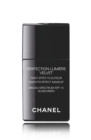 CHANEL+PERFECTION+LUMIÈRE+VELVET+ Smooth-Effect+Makeup+Broad+Spectrum+SPF+15+Sunscreen+available+at+#Nordstrom