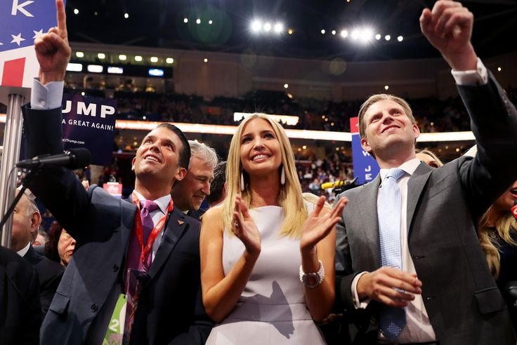 Ivanka and Eric Trump are decrying a nasty political system that their father only made nastier.