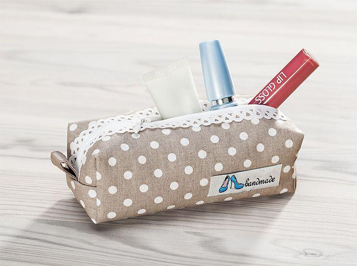 Anleitung: Kosmetiktäschchen mit Spitzenreißverschluss | buttinette Blog