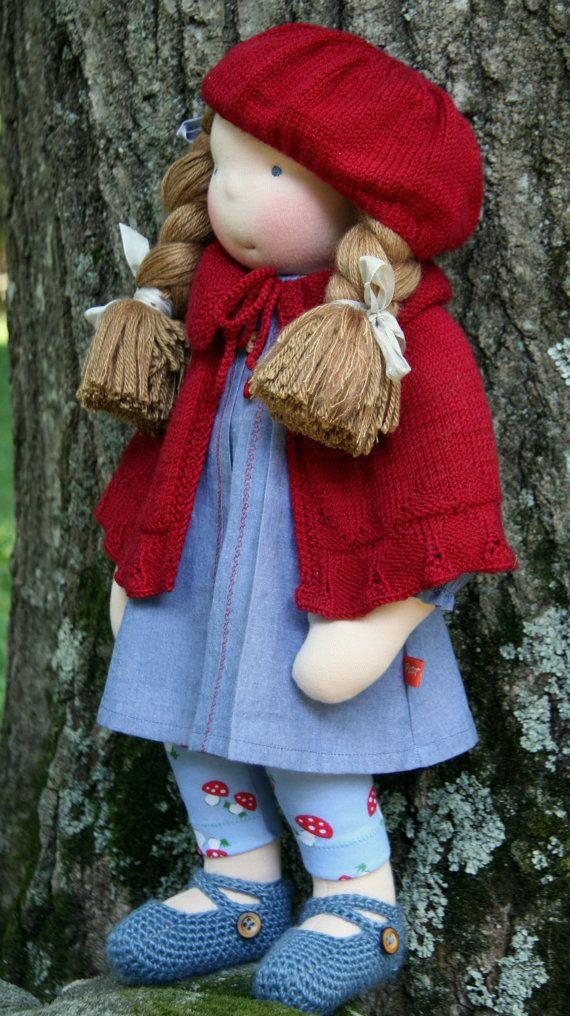Petit Gosset Handmade Doll 19 inch - RESERVED for Melissa