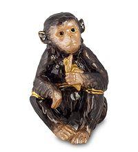 """SMT-29 Шкатулка """"Обезьяна"""" (Art Tree)  скульптура обезьяна символ года 2016 новогодние подарки на новый год сувениры фигурка обезьянка новогодняя купить"""