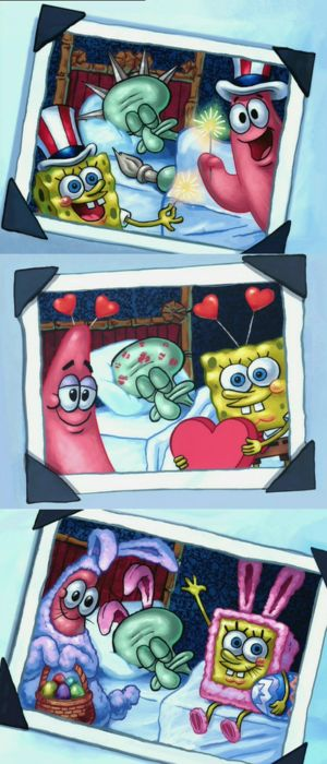 Spongebob and Patrick have been the masters of trolling since 1999
