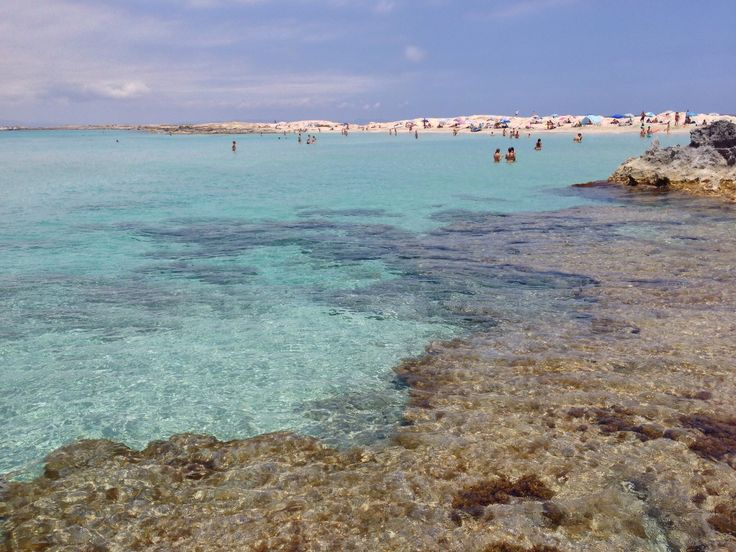 Gorgoeus water at formentera spain