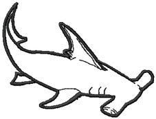 pictures of hammerhead shark drawings | Hammerhead Shark Drawing In Pencil Hammerhead shark drawings - google ...