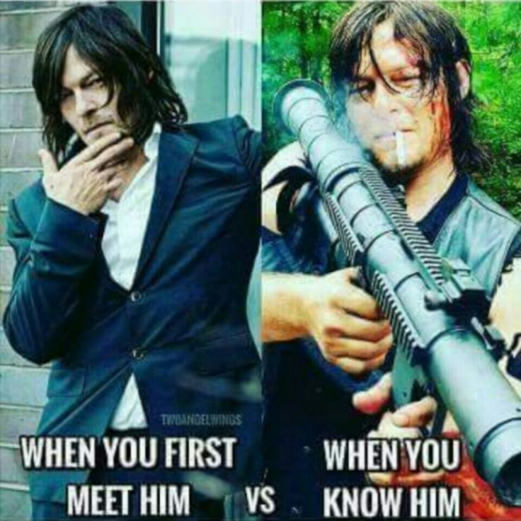 The Walking Dead #TWD I'd take both! #NormanReedus #DarylDixon