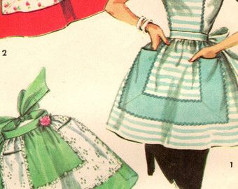 1950s Simplicity 1846 Vintage Sewing Pattern by midvalecottage