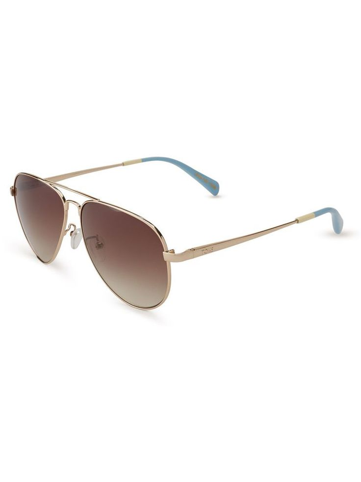 #TOMSEyewear's Maverick in Satin Silver
