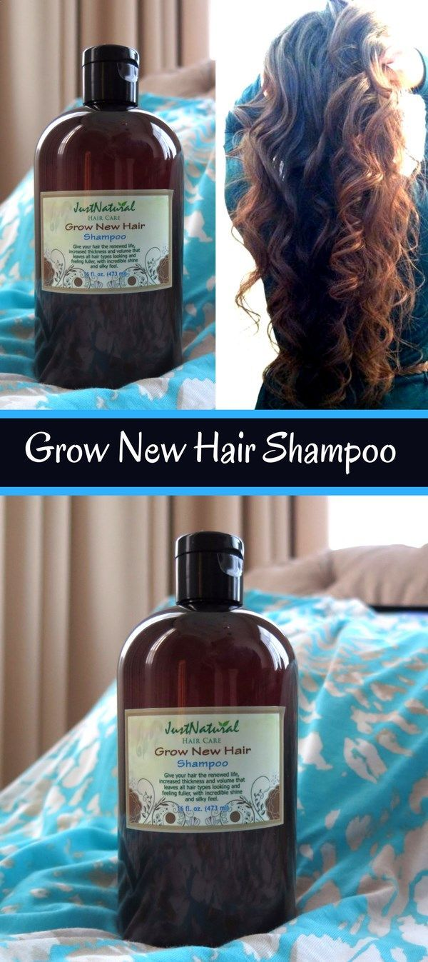 Grow New Hair Shampoo / I have used several products to help with my thinning hair such as Nioxin, Bosleys. Just Natural / Nutritive has many different benefits, my hair feels amazing, its full, and I can even wear it natural without it frizzing! With this shampoo I do not have to color my hair as often!