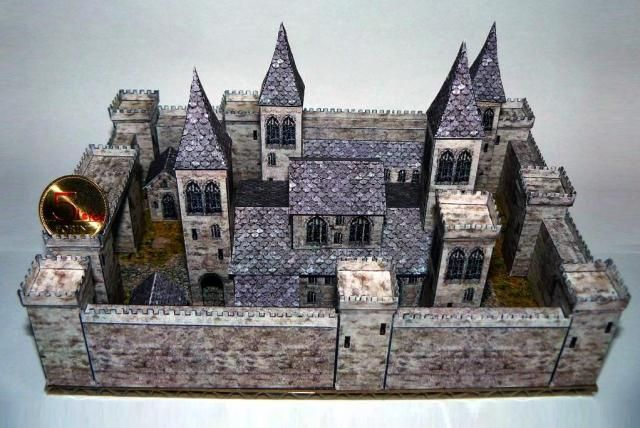 The 68 best images about paper house templates on for Build your own castle home