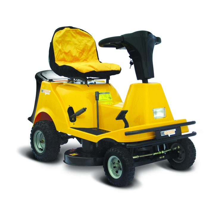 Electric riding lawn mower sale