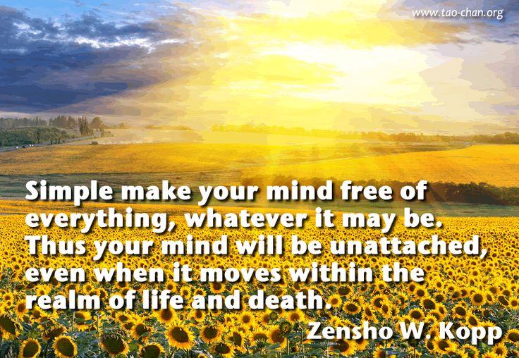 Zen Quote by Zen-Master Zensho W. Kopp #zen #zenquote #buddhism #quotes #zenbuddhism