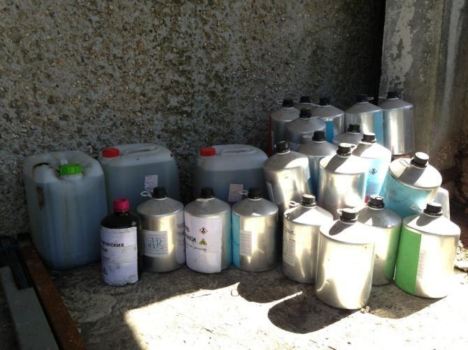 Переработка химических отходов