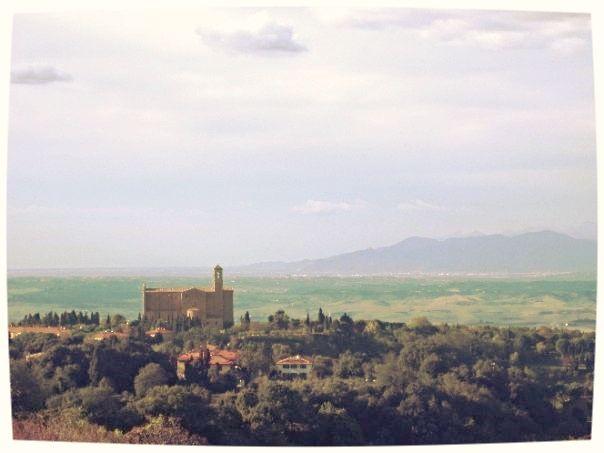 Abbey Of San Giusto near Volterra, Tuscany - Photograph taken by Bonechi Imports