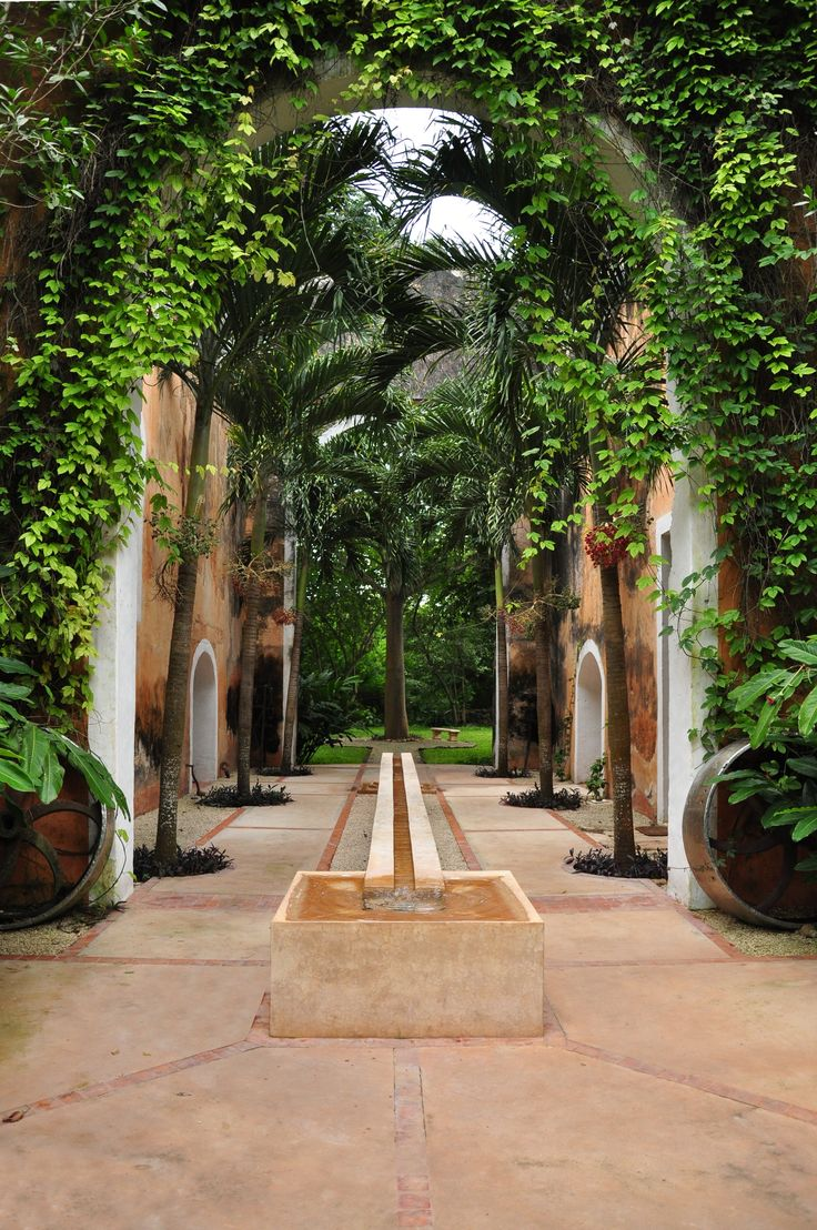 The Courtyard at Hacienda Petac. MEXICO