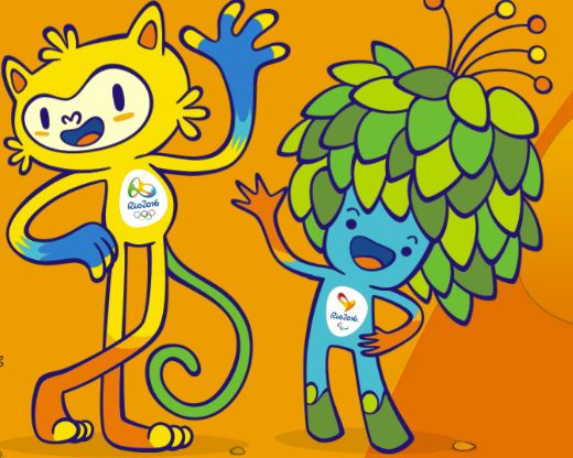 The mascots for the 2016 Olympic and Paralympic Games were revealed on Monday, and they look like a cat and a tree. Description from sportal.co.nz. I searched for this on bing.com/images