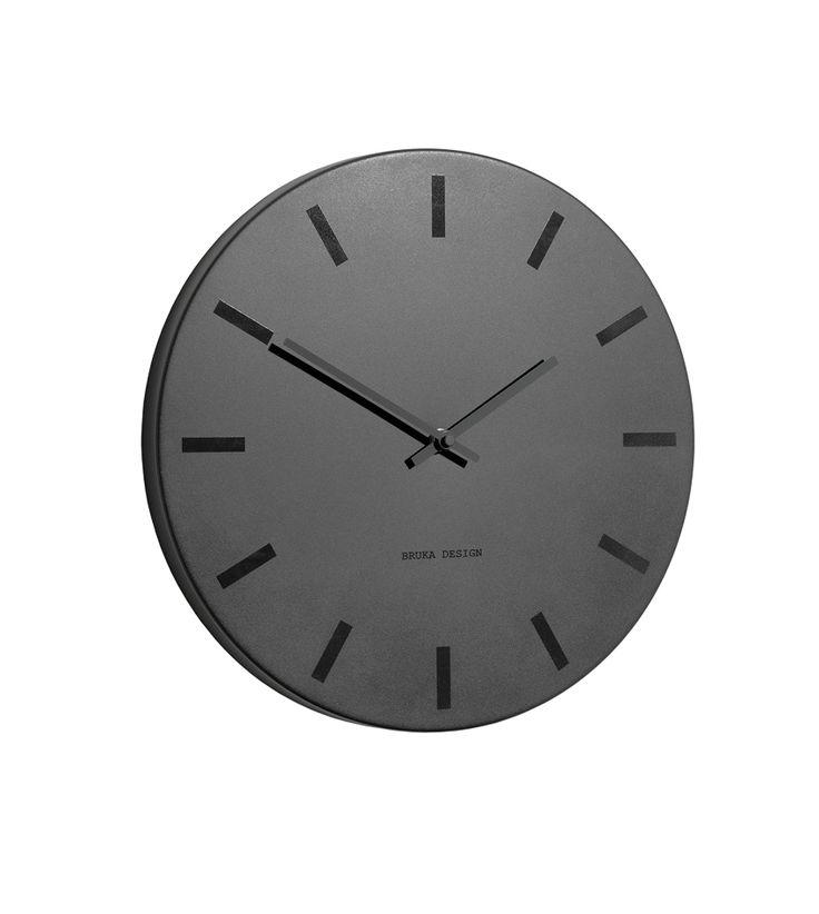 Klokke fra Bruka - sort