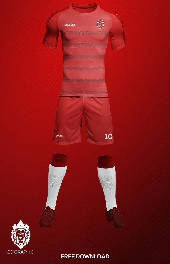 Download Football Soccer Kit Free Mockup Soccer Kits Soccer Football