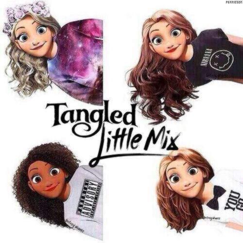 Tangled Little mix