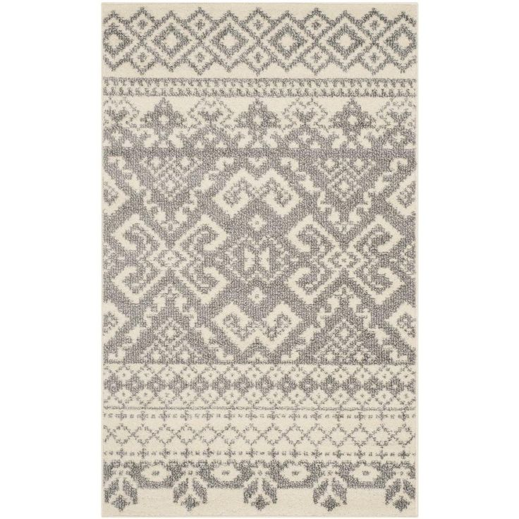 Safavieh Adirondack Ivory Silver 3 Ft X 5 Ft Area Rug