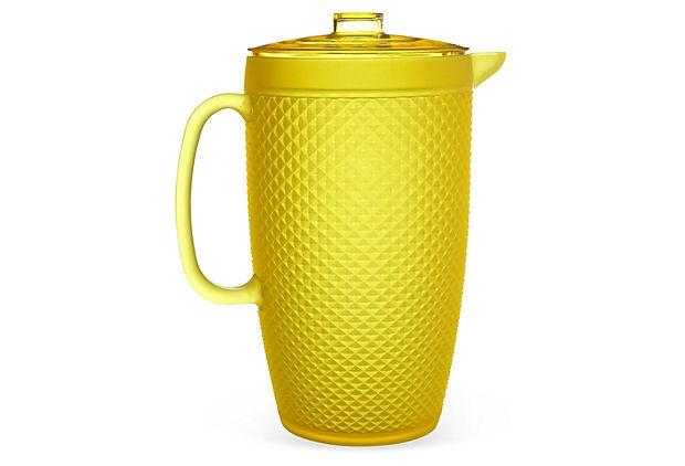 Palm Beach Pitcher, Yellow on OneKingsLane.com