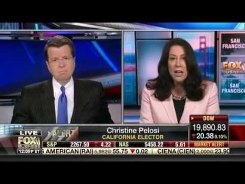 Neil Cavuto desrroys Christine Pelosi on Liberal Coup of electoral college