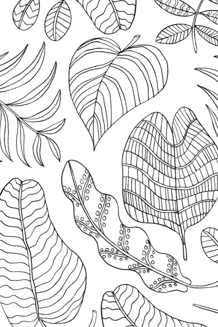 Mindfulness Coloring Activities Coloring Pages For Kids Mindfulness Colouring Coloring Pages Nature