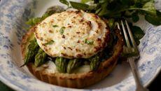 Asparagus & Goats Cheese Tartlet