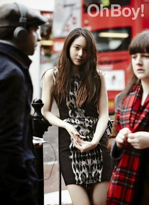 f(x)'s Krystal poses for OhBoy! Magazine - Latest K-pop News - K-pop News   Daily K Pop News