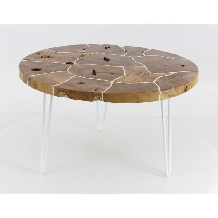 Enticing Teak Coffee Table