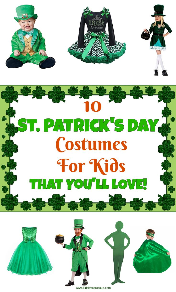 13 best st patrick u0027s day costumes for kids images on pinterest