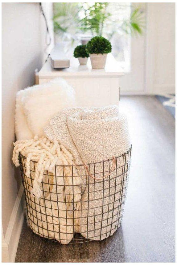 Pin On Home Inspo #throw #basket #for #living #room