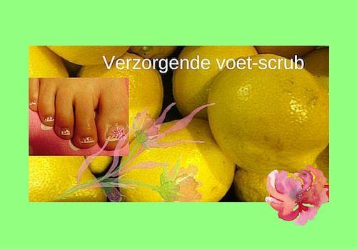 Zelf voetscrub maken van citroen #Voetenscrub #Scrub #zelfmaken #DIY #citroen #Recept