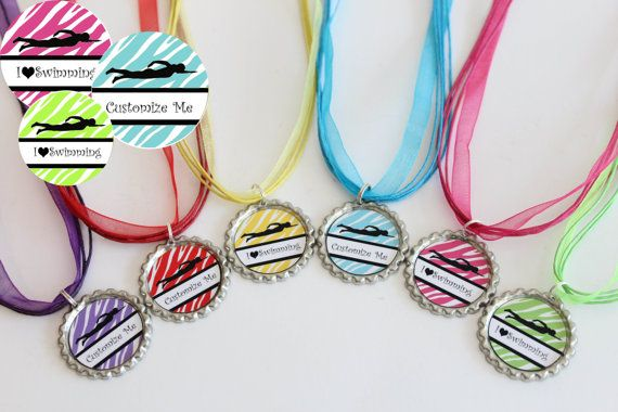 Swim Team Favors  Swim Team Gift  Swimming by NanasPartyPalace, $12.00